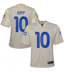 Youth Los Angeles Rams #10 Cooper Kupp White Nike Bone Game Jersey.webp