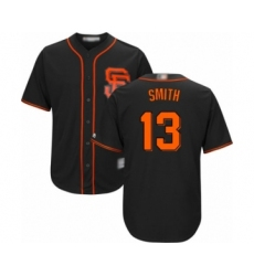 Youth San Francisco Giants #13 Will Smith Authentic Black Alternate Cool Base Baseball Jersey
