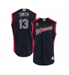 Youth San Francisco Giants #13 Will Smith Authentic Navy Blue National League 2019 Baseball All-Star Jersey