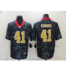Men's New Orleans Saints #41 Alvin Kamara Camo 2020 Nike Limited Jersey