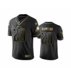 Men's Philadelphia Eagles #20 Brian Dawkins Limited Black Golden Edition Football Jersey