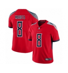 Men's Tennessee Titans #8 Marcus Mariota Limited Red Inverted Legend Football Jersey