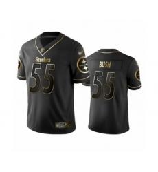 Men's Pittsburgh Steelers #90 T. J. Watt Black Jesus Faith Limited Player Football Jersey