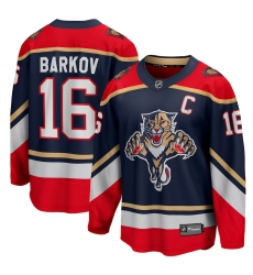 Men's Florida Panthers #16 Aleksander Barkov Fanatics Branded Blue 2020-21 Special Edition Breakaway Player Jersey