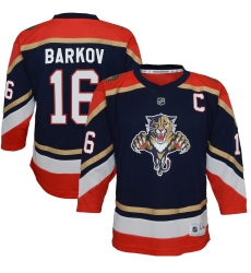 Youth Florida Panthers #16 Aleksander Barkov Navy 2020-21 Special Edition Replica Player Jersey
