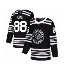 Men's Chicago Blackhawks #88 Patrick Kane Authentic Black Alternate Hockey Jersey