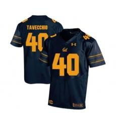 California Golden Bears 40 Giorgio Tavecchio Navy College Football Jersey