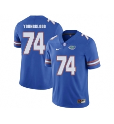 Florida Gators 74 Jack Youngblood Blue College Football Jersey