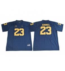 Michigan Wolverines 23 Tyree Kinnel Navy College Football Jersey