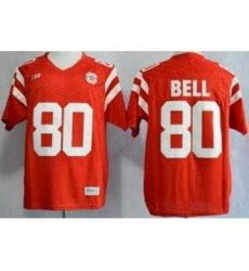 Nebraska Cornhuskers 80 Kenny Bell Red NCAA Jerseys