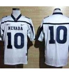 NEW Nevada Wolf Pack Colin Kaepernick 10 WAC Patch College Football Jerseys - White