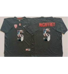 Louisville Cardinals #5 Christian McCaffrey Black Player Fashion Stitched NCAA Jersey