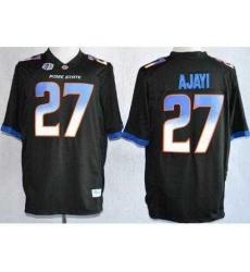 Boise State Broncos 27 Jay Ajayi Black NCAA Jerseys