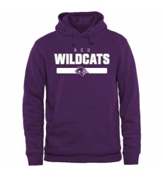 Abilene Christian University Wildcats Purple Team Strong Pullover Hoodie
