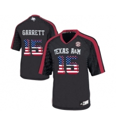 Texas A&M Aggies 15 Myles Garrett Black College Football Jersey