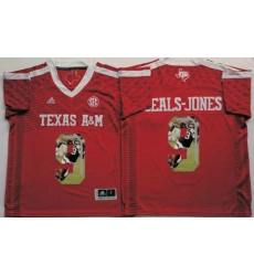 Texas A&M Aggies #9 Ricky Seals-Jones Red Player Fashion Stitched NCAA Jersey