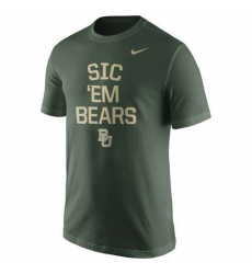 Baylor Bears Nike Local Verbiage T-Shirt Green