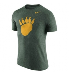 Baylor Bears Nike Logo Plus Tri-Blend T-Shirt Heather Green