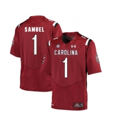 South Carolina Gamecocks 1 Deebo Samuel Red College Football Jersey