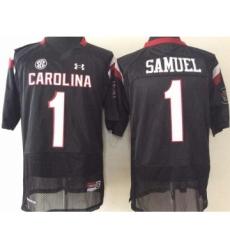 South Carolina Gamecocks 1 Gamecock Samuel Black College Football Jersey