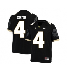 UCF Knights 4 Tre'Quan Smith Black College Football Jersey