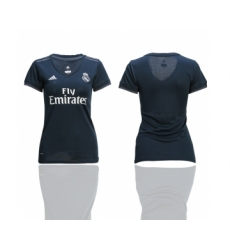 2018-19 Real Madrid Away Women Soccer Jersey