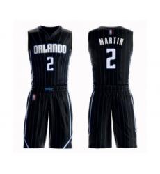 Men's Orlando Magic #2 Jarell Martin Swingman Black Basketball Suit Jersey Statement Edition