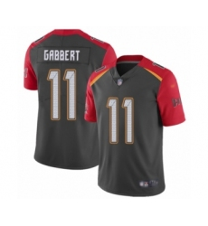 Youth Tampa Bay Buccaneers #11 Blaine Gabbert Limited Gray Inverted Legend Football Jersey