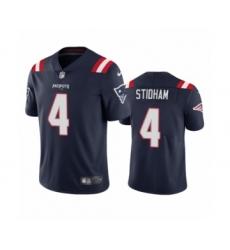 New England Patriots #4 Jarrett Stidham Navy 2020 Vapor Limited Jersey