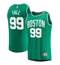 Men's Boston Celtics #99 Tacko Fall Fanatics Branded Kelly Green 2020-21 Fast Break Player Replica Jersey