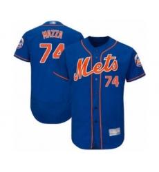 Men's New York Mets #74 Chris Mazza Royal Blue Alternate Flex Base Authentic Collection Baseball Player Jersey