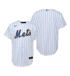 Men's Nike New York Mets Blank White Home Stitched Baseball Jersey