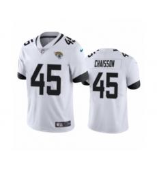 Jacksonville Jaguars #45 K'Lavon Chaisson White 2020 NFL Draft Vapor Limited Jersey