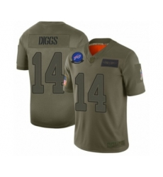 Buffalo Bills #14 Stefon Diggs Limited Olive 2017 Salute to Service Football Jersey