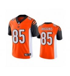 Cincinnati Bengals #85 Tee Higgins Orange 2020 NFL Draft Vapor Limited Jersey