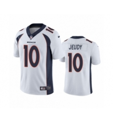 Denver Broncos #10 Jerry Jeudy White 2020 NFL Draft Vapor Limited Jersey