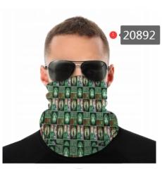NBA Fashion Headwear Face Scarf Mask-291