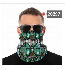 NBA Fashion Headwear Face Scarf Mask-296