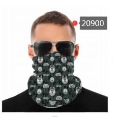 NBA Fashion Headwear Face Scarf Mask-299