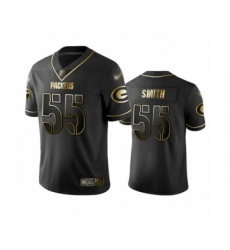 Men's Green Bay Packers #55 Za'Darius Smith Limited Black Golden Edition Limited Football Jersey