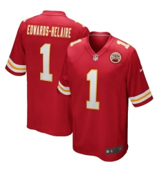 Men's Kansas City Chiefs #1 Clyde Edwards-Helaire Nike Red 2020 NFL Draft First Round Pick Game Jersey.webp