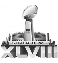 Stitched 2014 NFL Super Bowl 48 XLVIII Jersey Patch