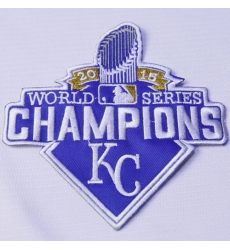 Stitched 2015 Kansas City Royals World Series Champions Jersey Patch