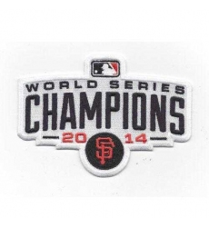 Stitched 2014 San Francisco Giants Baseball World Series Champions Logo Jersey