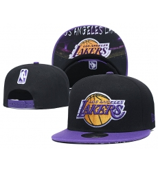 Los Angeles Lakers Hats-002