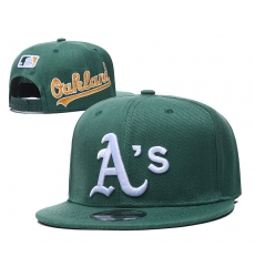 MLB Oakland Athletics Hats 001