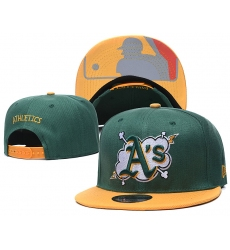 MLB Oakland Athletics Hats 002