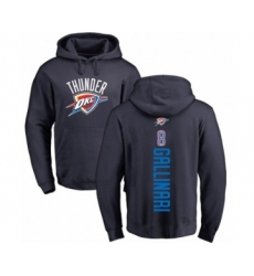 Basketball Oklahoma City Thunder #8 Danilo Gallinari Navy Blue Backer Pullover Hoodie