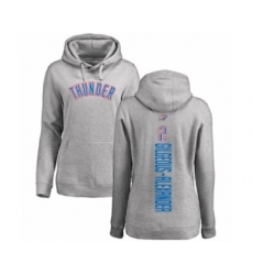 Basketball Women's Oklahoma City Thunder #2 Shai Gilgeous-Alexander Ash Backer Pullover Hoodie