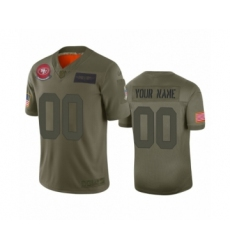 Youth San Francisco 49ers Customized Camo 2019 Salute to Service Limited Jersey